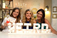 DIY Marquee Letters from the best selling book 'A Hot Glue Gun Mess'!