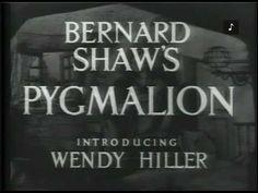 PYGMALION (1938) - Full Movie - Captioned