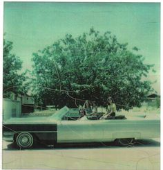 The only picture I have of my 1964 Cadillac, taken right before I was forced to sell it and my 1959 Cadillac for junk, I wasn't allowed to keep them on my mothers property because she couldn't deal with the fact that I had moved in to live with a black man.