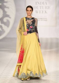 Varun Bhal's ,Indian Couture Week 2014 #anarkali