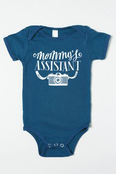 Mommy's Assistant Organic Baby Boy One-Piece, just ordered one for little Mr.! :))