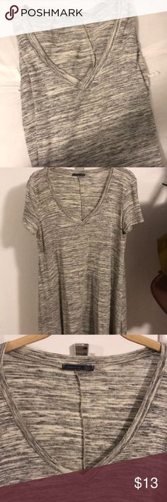 A-Line Gray Dress Awesome little dress to throw on a go! Very comfy fit!  ❗️offers and bundles welcome ❗️ Dresses Mini