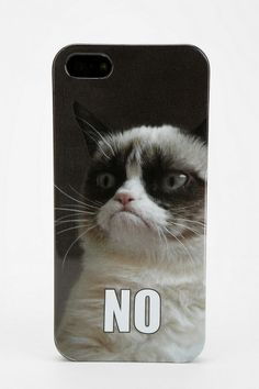 Grumpy Cat iPhone 5/5s Case. Words cannot explain my love for this