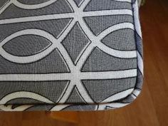 etsy seller who makes custom bench cushions CushNCovers