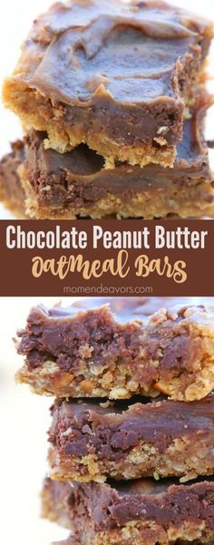 Chocolate Peanut Butter Bars Recipe
