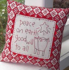 I will have to make this Xmas pillow