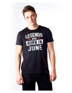 "T-shirt ""Legends Born In ..."""