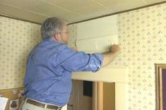 How to Remove Wallpaper Easily • Ron Hazelton Online • DIY Ideas & Projects