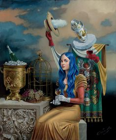 Michael Cheval Echo Of the Golden Age II