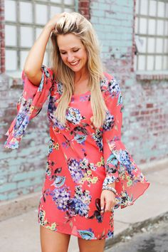 Anything Goes Floral Dress from The Rage