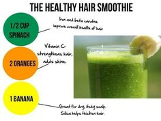 The Healthy Hair Smoothie