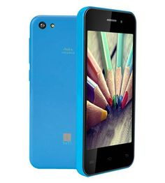 iBall Andi 4U Frisbee Smart Phone  Powerful Quad Core 1.3 GHz Cortex A7 Advanced Processor Android™ 4.4 Kitkat® Enhanced 8MP AF Camera with LED Flash Front Camera for Video Calling 4 GB internal storage 32GB external Micro SD card support 1 GB RAM  Best Buy 5450 Visit www24x7Mart.com