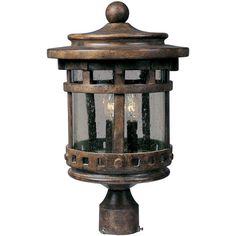 Found it at Wayfair - Santa Barbara Cast Outdoor 3 Light Lantern Head