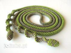 CROCHET SPIRAL on Pinterest   Bead Crochet, Bead Crochet Rope and ...