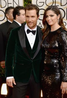 Matthew McConaughey and wife Camila Alves