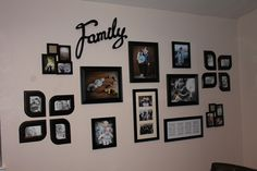 My Family Picture Wall