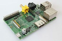 The Raspberry Pi is a credit card sized single-board computer developed in the UK by the Raspberry Pi Foundation. The Raspberry Pi has a Broadcom BCM2835 system on a chip (SoC), which includes an ARM1176JZF-S 700 MHz processor, VideoCore IV GPU, and 256 megabytes of RAM. The Foundation provides Debian and Arch Linux ARM distributions for download. Also planned are tools for supporting Python as the main programming language, with support for BBC BASIC, C, and Perl.