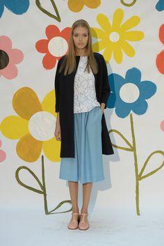 Spring 2015 Ready-to-Wear - Orla Kiely.  Nice color combos.  #UrbanHijab  www.urbanhijab.com