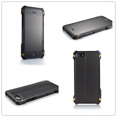Along with the Element Sector 5 Black Ops iPhone 5 Case signature black non-glare type 3 hard anodized finish and amber corner links, this Sector 5 Black Ops iPhone 5 Case includes a black knurled power button, a VZ Grips produced G10 back plate, stealth privacy screen protector, and the ALL NEW Element Case Tactical Holster.