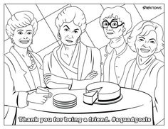 0a2f629a6e0 download this golden girls coloring page immediately Golden Girls Quotes