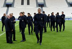 Leonardo Bonucci of Italy attends prior to the press conference at Juventus Stadium on October 5, 2016 in Turin, Italy.