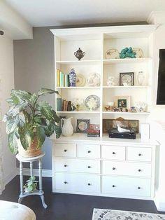 living – furnishing – furniture – home office – hallway - Dresser In Closet, Kitchen Dresser, Multipurpose Guest Room, Ikea Hemnes Shoe Cabinet, Office Storage Furniture, Furniture Ideas, Ikea Hacks, Room Decor, Sweet