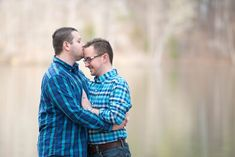 Kyle and Steven - How He Asked by The Knot - Yasmin Leonard Photography - High Point Engagement Session