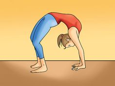 How to Do a Backbend: 5 Steps (with Pictures) - love doing this :)