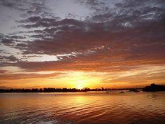 Pôr-do-sol em Riverside, Greenwich, Connecticut, USA.