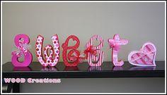 Sweet Heart Word Set