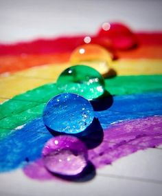 ♥ Colors of the Rainbow