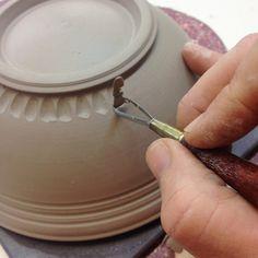 bowl carving demo 1