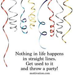 Sprinkles to live by... Chris Mott - www.mottivation.com