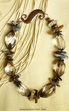 Crystal Gazer quartz Primitive Contemporary by MorningDoveDesign, $129.00
