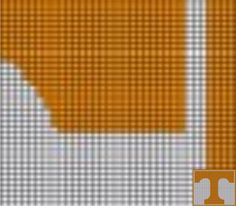 Tennessee Vols (E19) via Loopaghans Custom Crochet. Click on the image to see more!