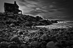 Coastal Home  Kennebunkport Maine Poster By Bob Orsillo