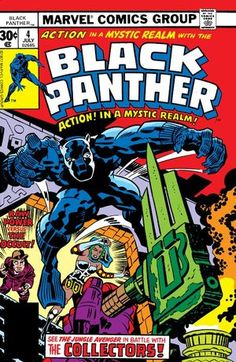 Black Panther Vol 1 4. Por Jack Kirby y Frank Giacoia. #BlackPanther #JackKirby