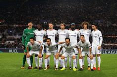 Chelsea FC team poses before the UEFA Champions League group C match between AS Roma and Chelsea FC at Stadio Olimpico on October 31, 2017 in Rome, Italy. - 85 of 299