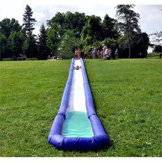 Rave Sports Turbo Chute Backyard Water Slide Package