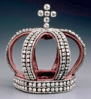 Wedding crown used by Grand Duchesses of Russia, whether they were born Romanovs, or marrying into the family.