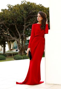1Silla para mi bolso - Red dress