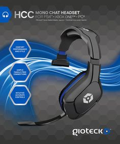 HCC Wired Mono Headset (PS4/Sony PSP/PC DVD/Nintendo Wii/DS): Amazon.co.uk: PC & Video Games