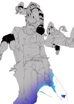 Jojo Parts, Jotaro Kujo, Jojo Memes, Jojo Bizzare Adventure, Jojo Bizarre, Pictures To Draw, Easy Drawings, Manga Art, Illustration Art