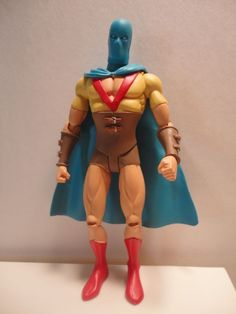 DC Direct JSA  Series 1 Golden Age outfit The Atom Action Figure 2006 DC Comics #DCDirect