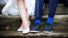 Hochzeitsfotografie vintage Brautpaarschuhe