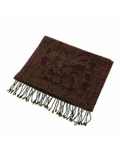 Echarpe en laine - Accessoire Homme - Motifs du Cachemire: Amazon.fr: Vêtements et accessoires