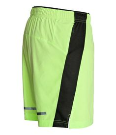 Running Shorts | Neon yellow | Men | H&M US