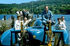 Donald Campbell and Bluebird, Coniston Fast Boats, Cool Boats, Interesting Photos, Cool Photos, North Shields, Bluebirds, Nascar Racing, Michael J, Power Boats