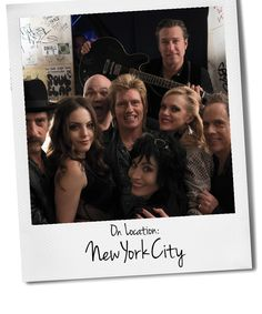 "DuJour chats with Elaine Hendrix about what it took to make an authentic ""New York feel"" while shooting, as well as what it felt like to recall the glory days of ""Blondie"" and ""the Talking Heads""."