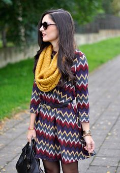 ...zig Zag #Dress...
